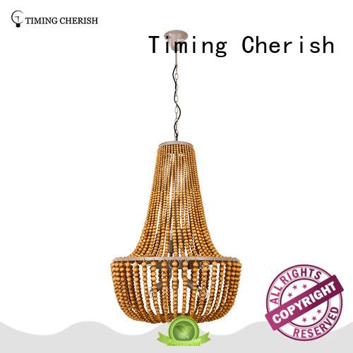 Timing Cherish handmade beaded pendant light for sale for bar