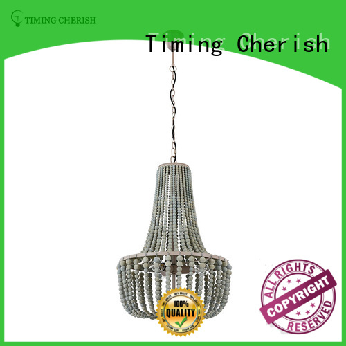 Timing Cherish wood pendant chandelier manufacturers for hotel