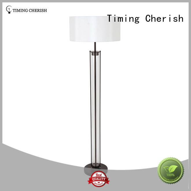 Timing Cherish bowling standing lamp shade for home