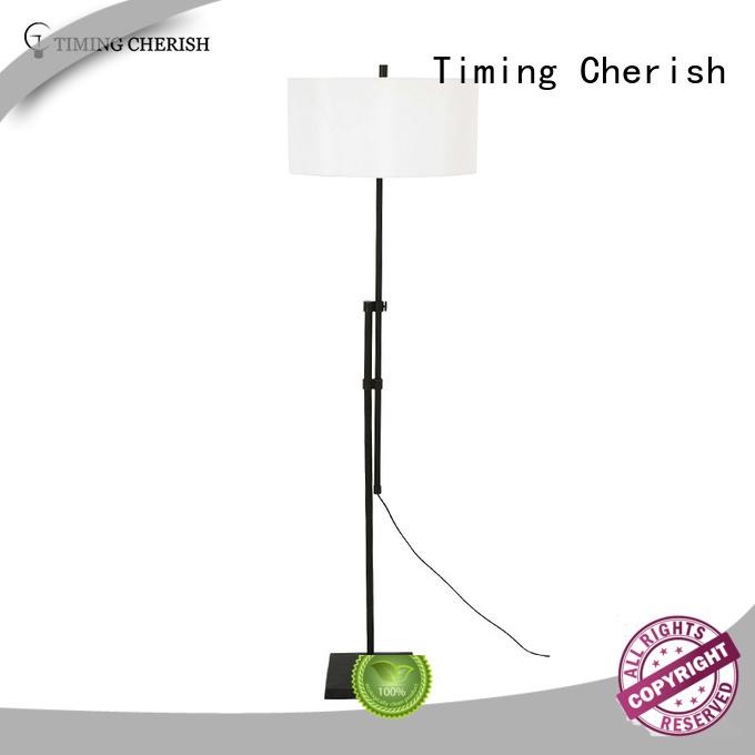 Timing Cherish wicker rattan floor lamp manufacturers for bar