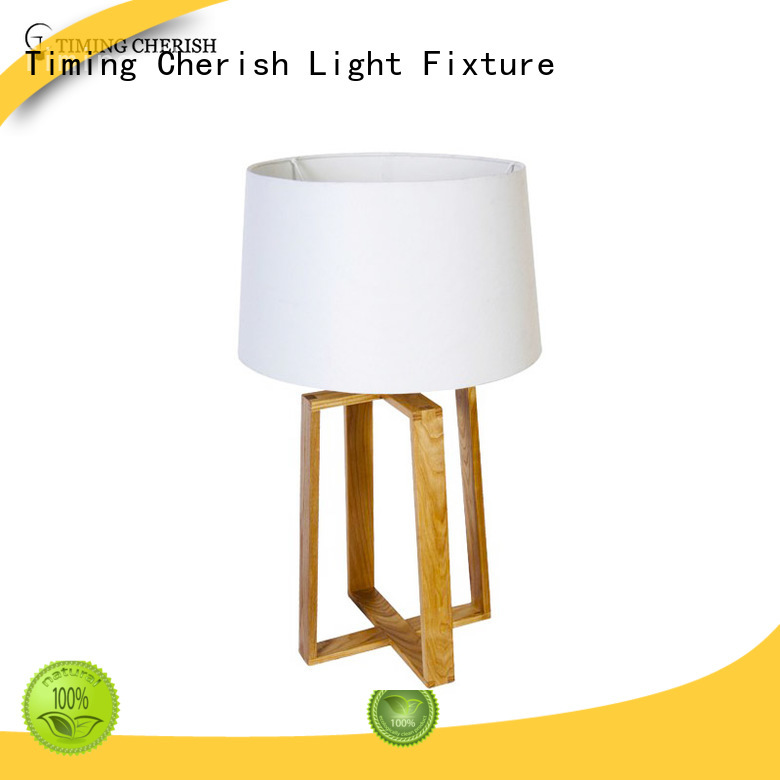 Timing Cherish modern end table lamps suppliers for home