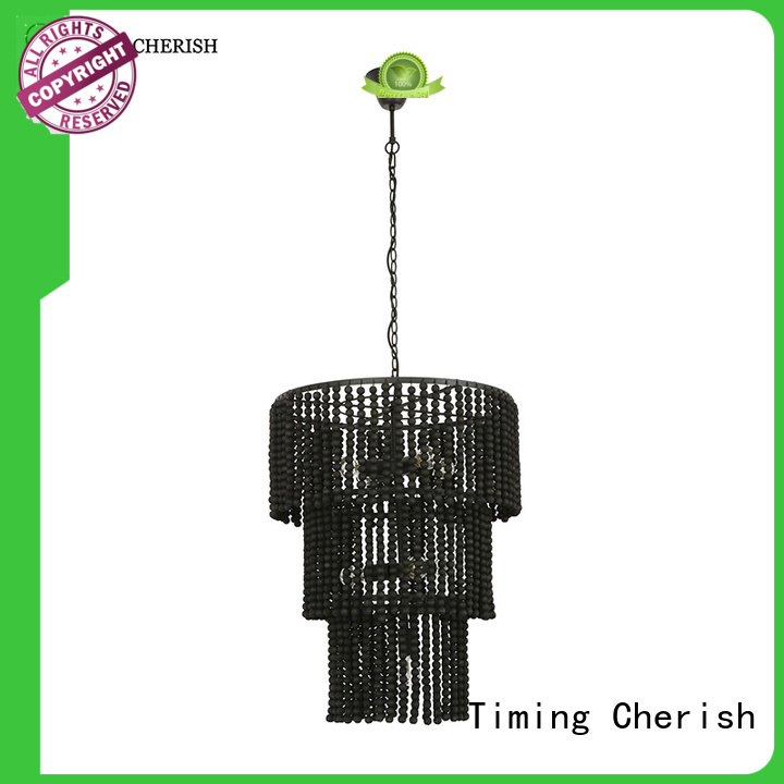 Timing Cherish natural chandelier lamp manufacturers for shop