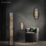 Timing Cherish linen wicker floor lamp manufacturers for home