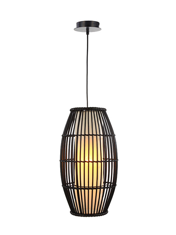 Timing Cherish black timber pendant light for business for home-2