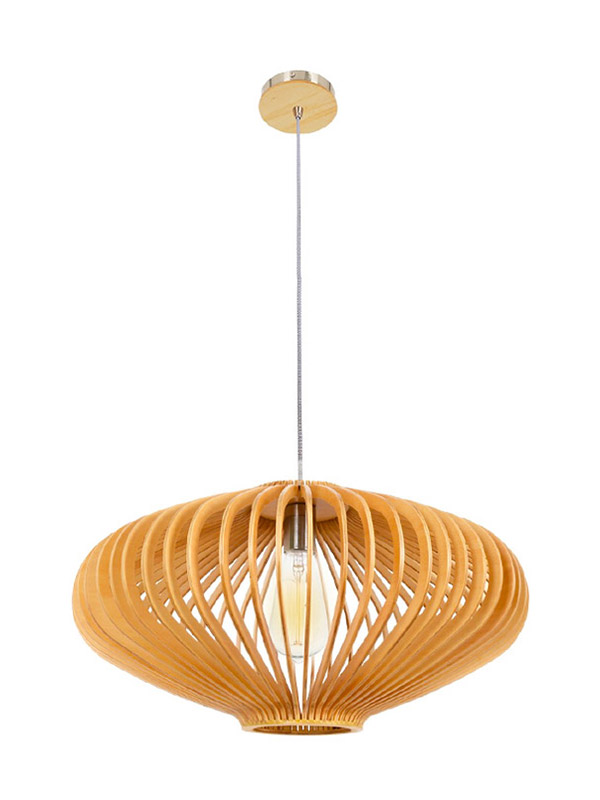 baikal timber pendant light woven supply for shop-2