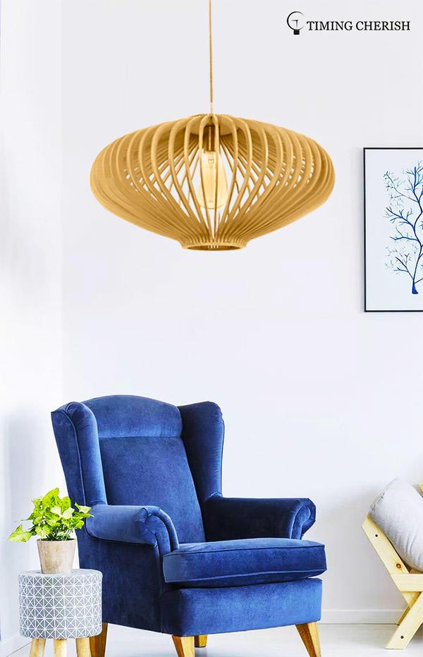 boho timber pendant light polytope factory for bar-1