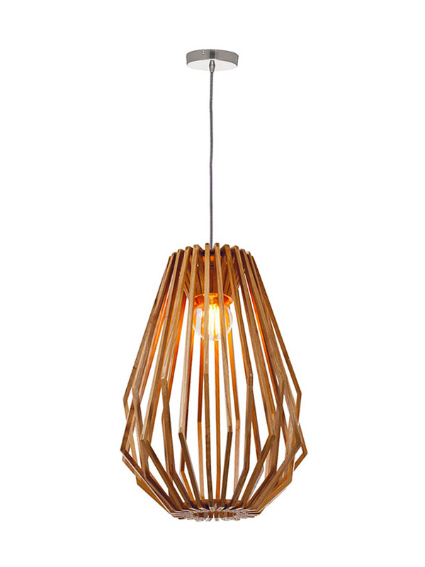 Timing Cherish frisbee timber pendant light suppliers for hotel-2