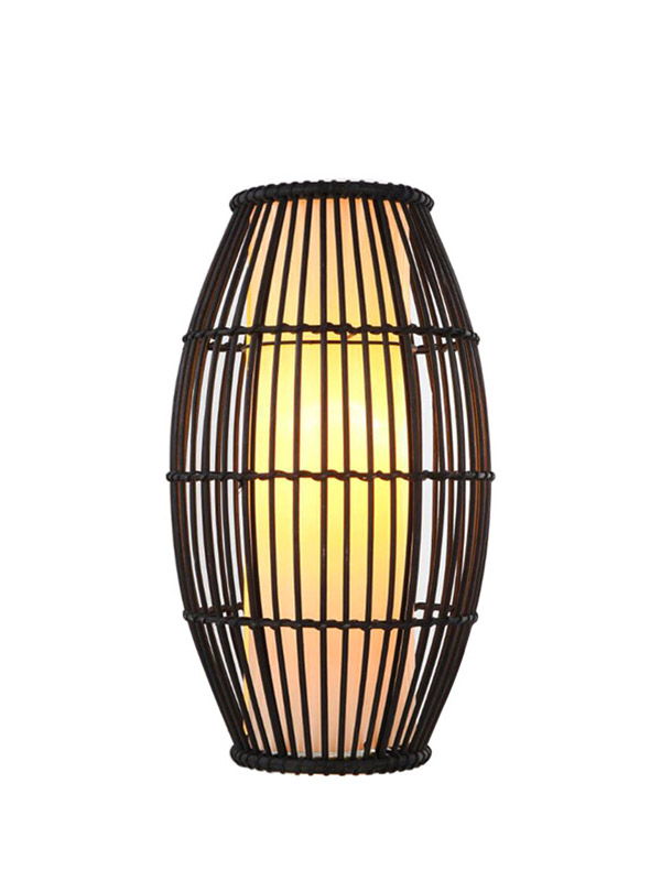 natural touch table lamp woven for business for kitchen-2