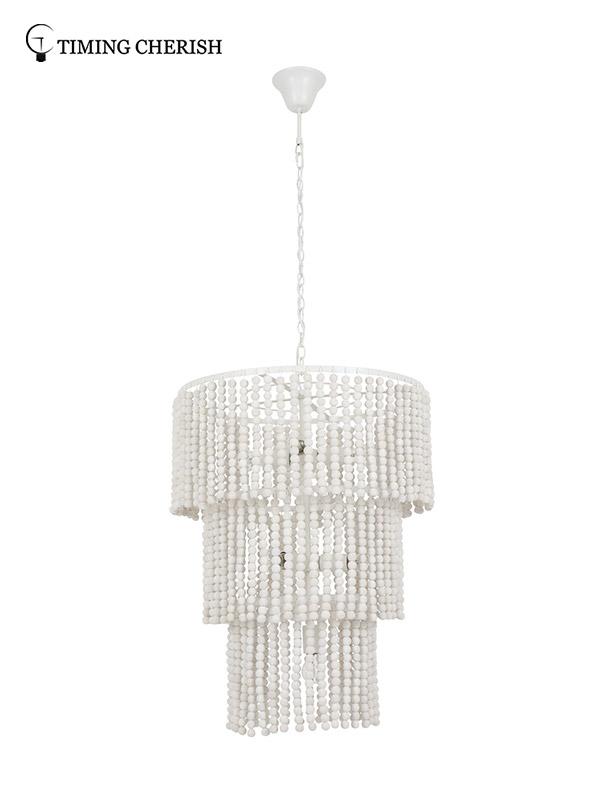 Timing Cherish baikal beaded pendant light for business for living room-3