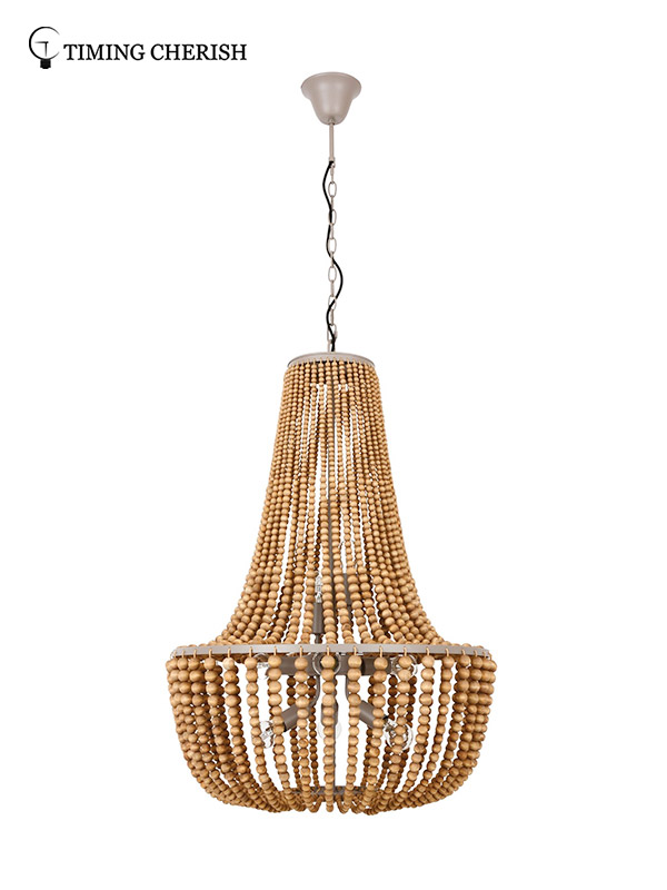 Timing Cherish draped hanging chandelier suppliers for living room-2