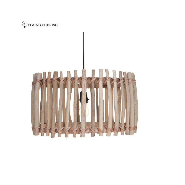 Icoty Driftwood Pendant Ceiling Light