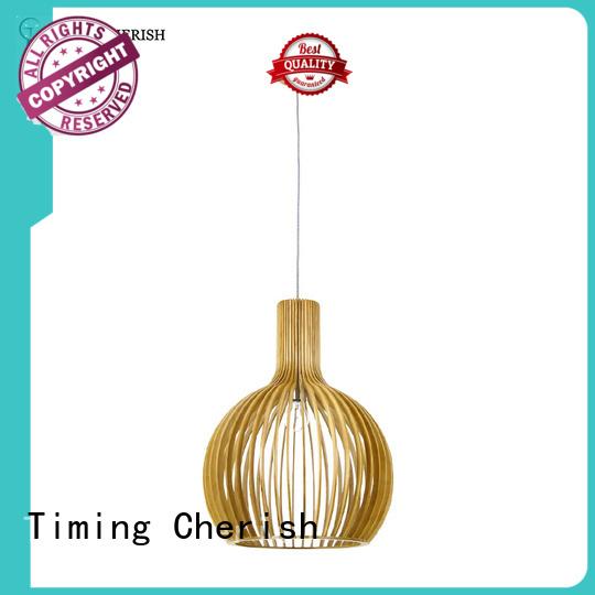 Timing Cherish macrame timber pendant light suppliers for bar