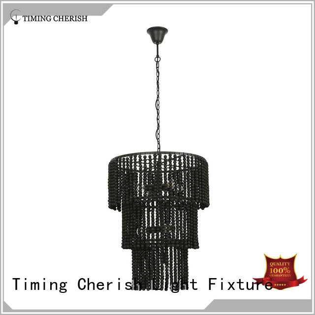 Timing Cherish weaving hanging chandelier suppliers for living room
