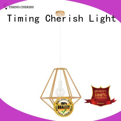Timing Cherish macrame natural pendant light customized for living room