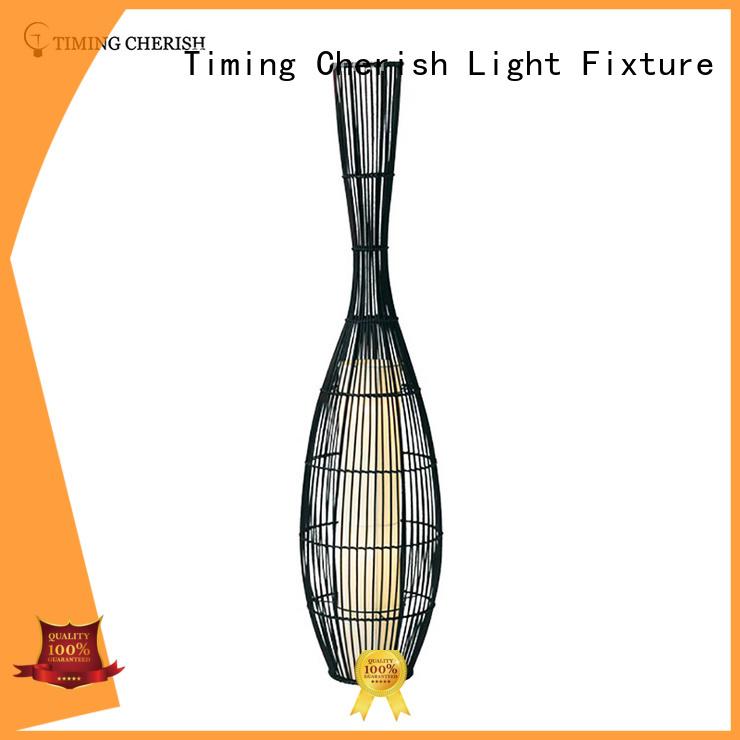 Timing Cherish white elegant floor lamps supplier for bar