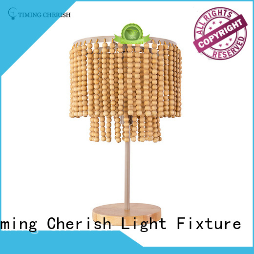 Timing Cherish handmade end table lamps suppliers for hotel