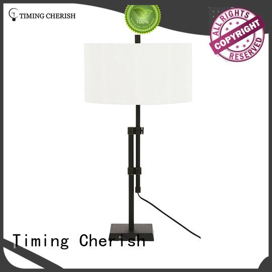 Timing Cherish black bedside table lights for sale for hotel