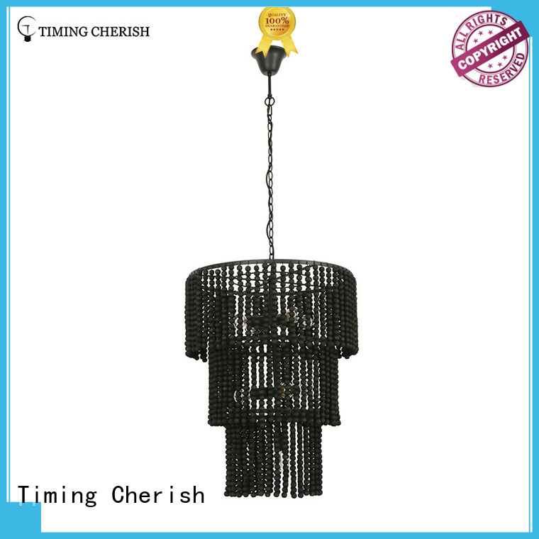 Timing Cherish fringed pendant chandelier company for living room