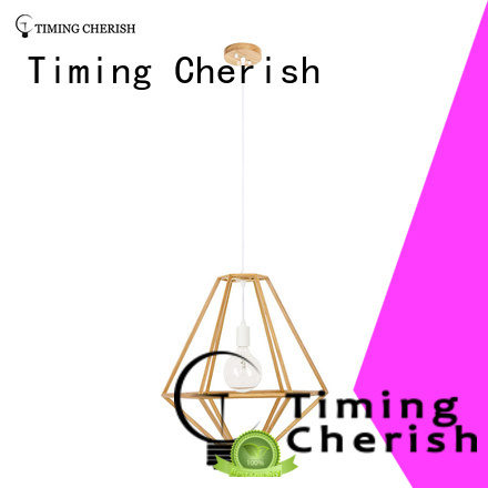 Timing Cherish modern timber pendant light suppliers for shop