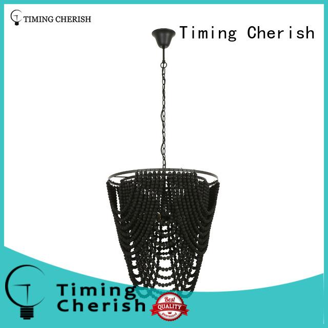 fringed beaded pendant light customized for bar Timing Cherish