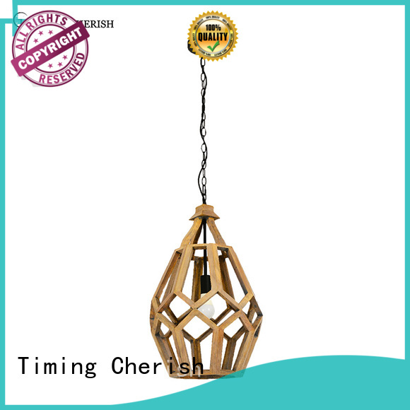 Timing Cherish himalayan timber pendant light suppliers for hotel