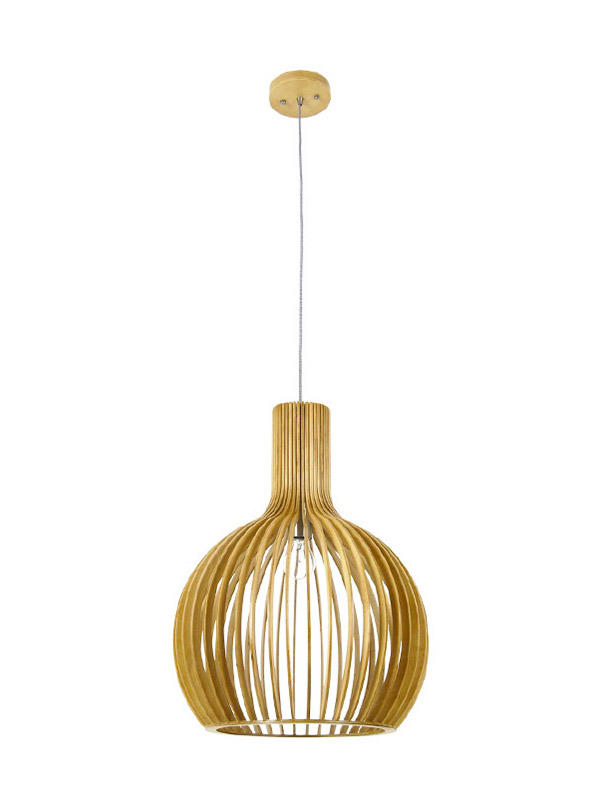Timing Cherish weaving cotton timber pendant light suppliers for hotel-2