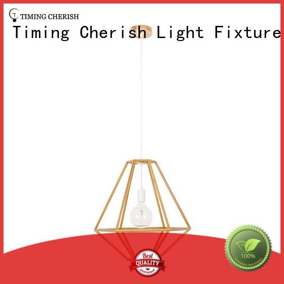 Timing Cherish handmade timber pendant light manufacturers for home