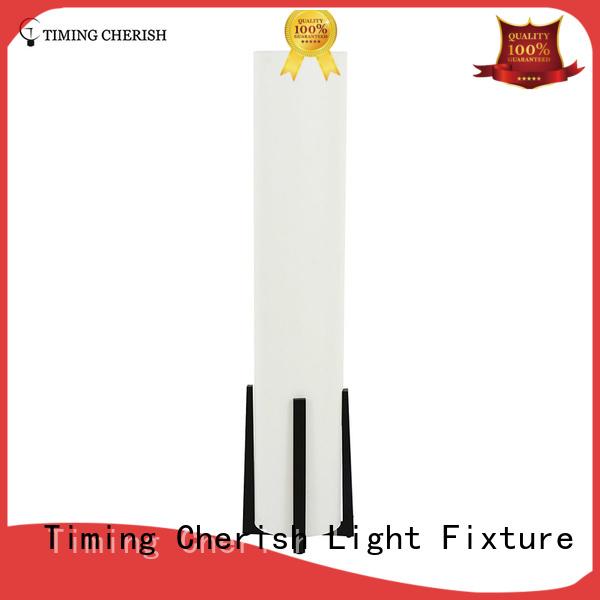 timber rattan floor lamp manufacturer for home Timing Cherish