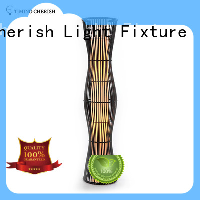 classic rattan floor lamp factory for home