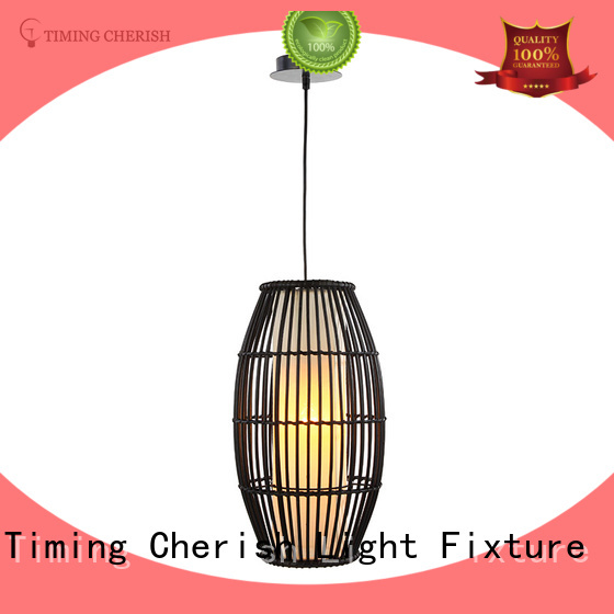 Timing Cherish Brand ceiling handmade torch custom wood dining room light fixtures