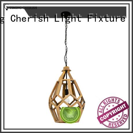 Timing Cherish fixture timber pendant light company for shop