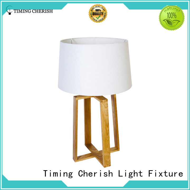 shade adjustable table lamp factory for living room Timing Cherish