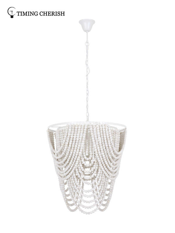 Timing Cherish fringed chandelier light factory for shop-3