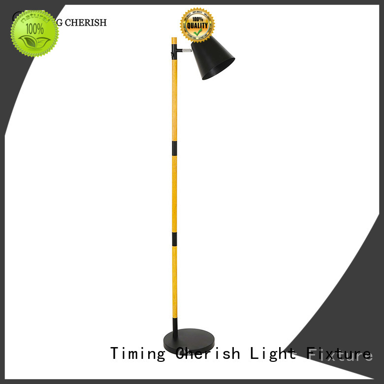 Timing Cherish adjustable rattan floor lamp supplier for bar