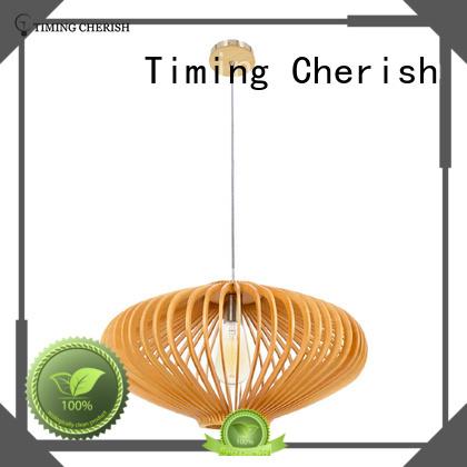 Timing Cherish modern timber pendant light for business for hotel