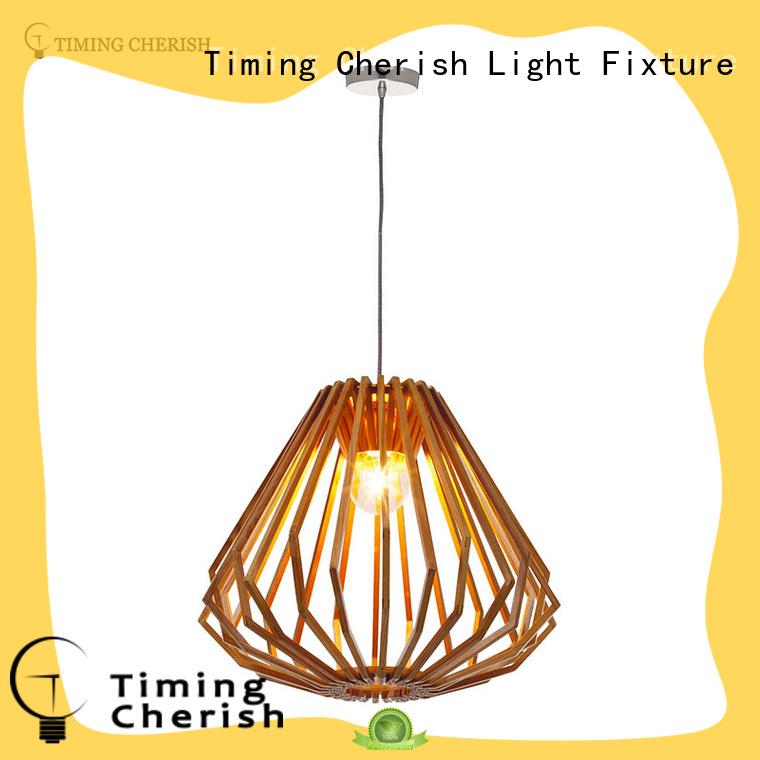 Hot squat wood dining room light fixtures hand Timing Cherish Brand