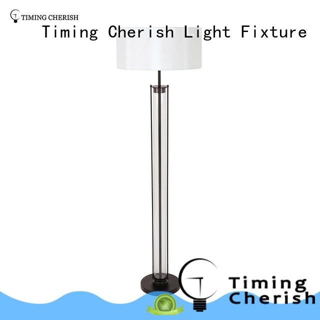 Timing Cherish tan corner floor lamp factory for home