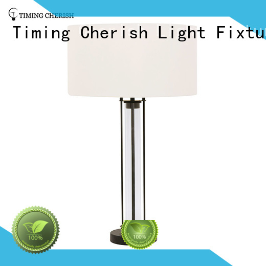 rattan touch table lamp rhine for hotel Timing Cherish