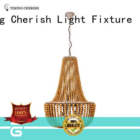 Timing Cherish natural modern crystal chandelier weaving for hotel