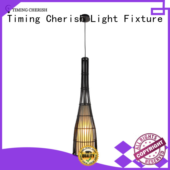 Timing Cherish crafted timber pendant light manufacturers for shop