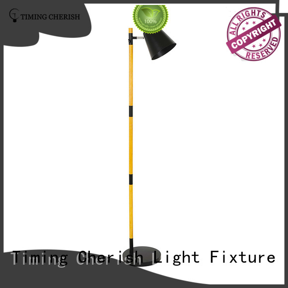Timing Cherish adjustable fabric floor lamp for business for living room