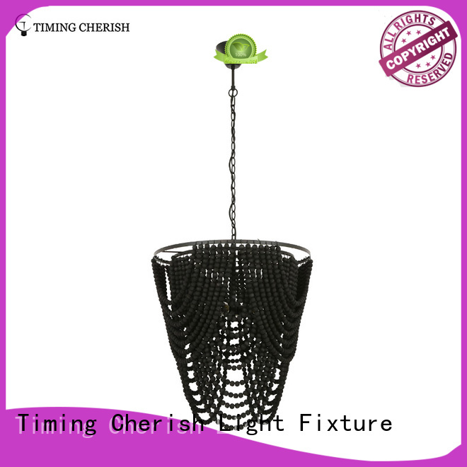 Timing Cherish fringed chandelier light factory for shop