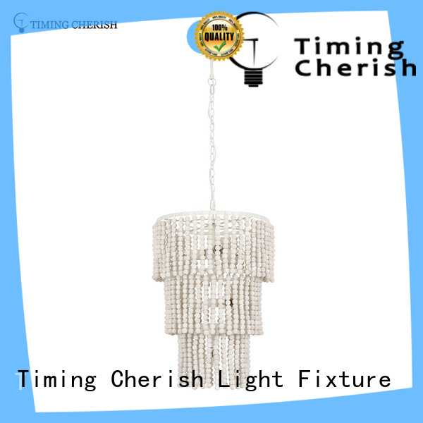 Timing Cherish macrame pendant chandelier factory for hotel