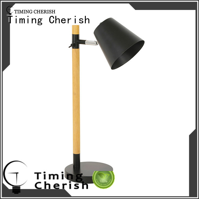 Timing Cherish adjustable wood table lamp suppliers for hotel