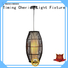 weaving cotton wood pendant light tall company for living room