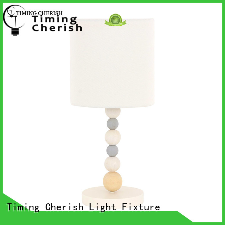 colored base white eco-friendly kids lamps Timing Cherish Brand