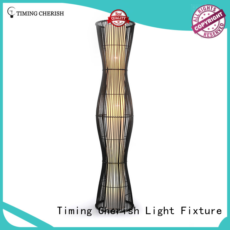 nickel natural floor lamp manufacturer for bar Timing Cherish