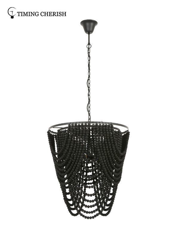 Timing Cherish fringed chandelier light factory for shop-1
