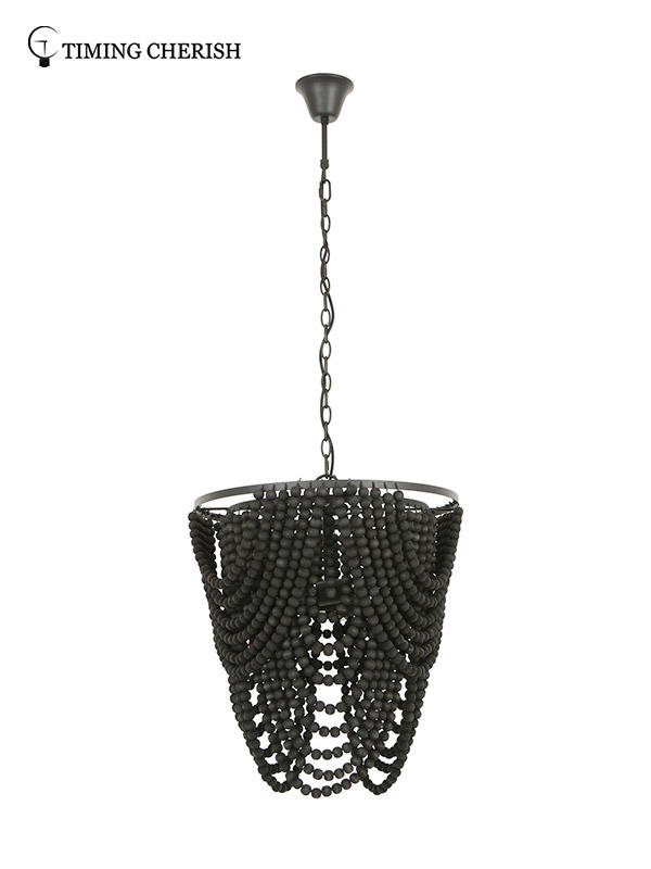 large chandelier light black for sale for home-2