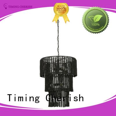 Timing Cherish natural fringe chandelier for business for bar